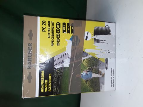 Lot 273 KARCHER PC 20 GUTTER AND PIPE CLEANING KIT