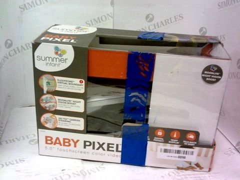Lot 957 SUMMER INFANT BABY PIXEL MONITOR