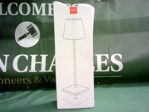 Lot 9087 ZAFFERANO PORTABLE AND RECHARGEABLE TABLE LAMP