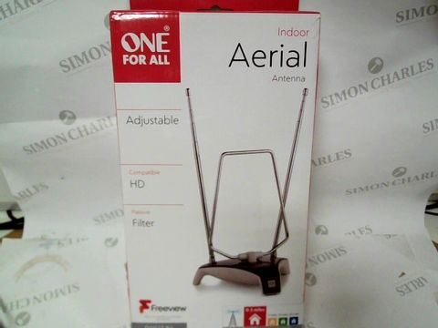 Lot 1011 A SMALL BOX CONTAINING A INDOOR AERIAL, BLACKWEB 3FT USB-C CABLE AND ONN WIRELESS BLUETOOTH HEADPHONES
