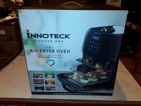 Lot 3044 BOXED INNOTECK KITCH PRO 1800W 12 LITRE AIR FRYER