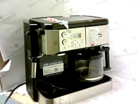 Lot 11262 DE'LONGHI COMBI COFFEE MACHINE