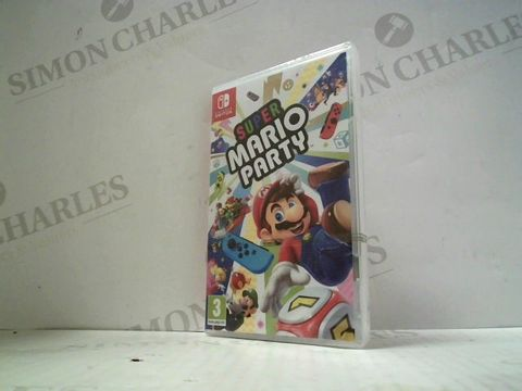Lot 3024 SUPER MARIO PARTY NINTENDO SWITCH GAME