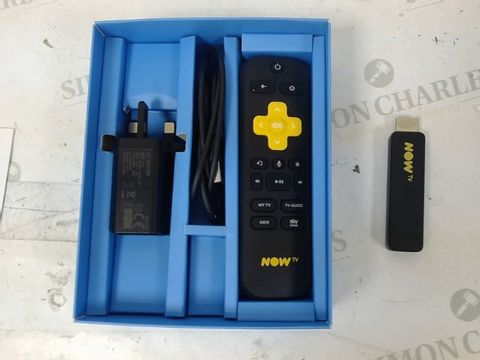 Lot 1244 NOW TV SMART TELEVISION STREAMING STICK