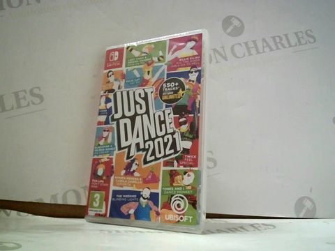 Lot 8162 JUST DANCE 2021 NINTENDO SWITCH GAME
