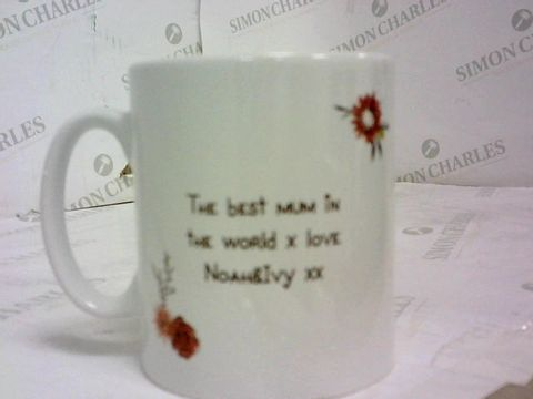 Lot 51 PERSONALISED ME TO YOU MUM MUG 'NOAH & IVY' RRP £13.00
