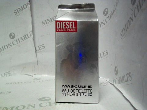 Lot 5008 BRAND NEW AND SEALED DIESEL PLUS PLUS MASCULINE EDT 75ML