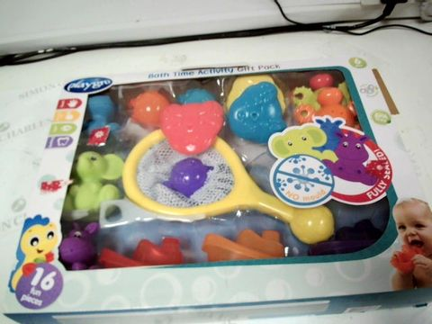 Lot 7170 PLAYGRO BATH TIME ACTIVITY PLAY PACK