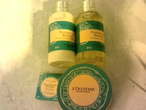 Lot 12117 L'OCCITANE 4 PIECE FRAGRANCE COLLECTION