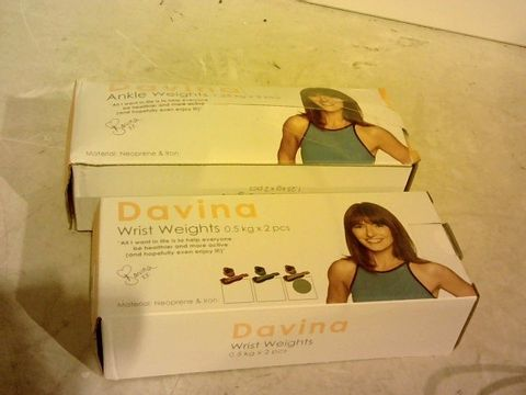Lot 1419 DIVINA WRIST AND ANKLE WEIGHTS