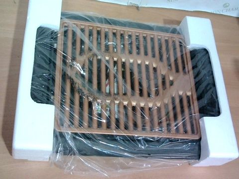 Lot 3298 GOTHAM STEEL COPPER NON-STICK ELECTRIC INDOOR GRILL