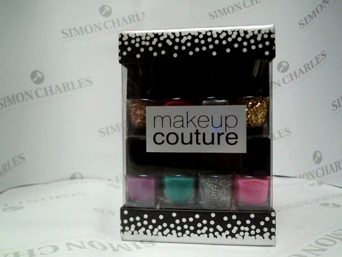 Lot 8134 MAKEUP COUTURE - 12X6.5ML NAIL POLISH BOTTLES