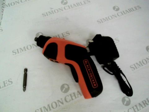 Lot 12010 BLACK AND DECKER ELECTRIC SCREWDRIVER