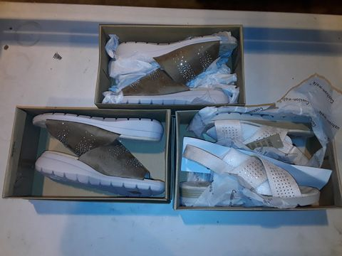 Lot 3075 LOT OF 3 ASSORTED SHOES