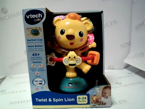 Lot 190 VTECH BABY - TWIST & SPIN LION