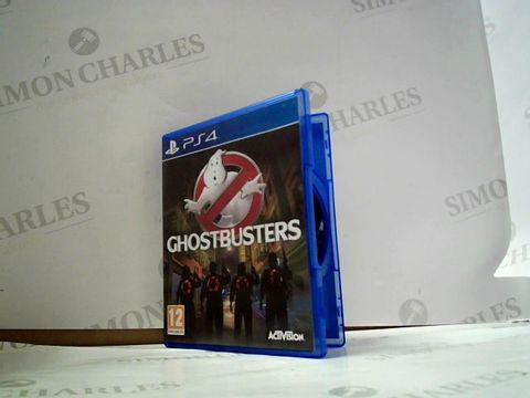 Lot 8032 GHOSTBUSTERS PLAYSTATION 4 GAME