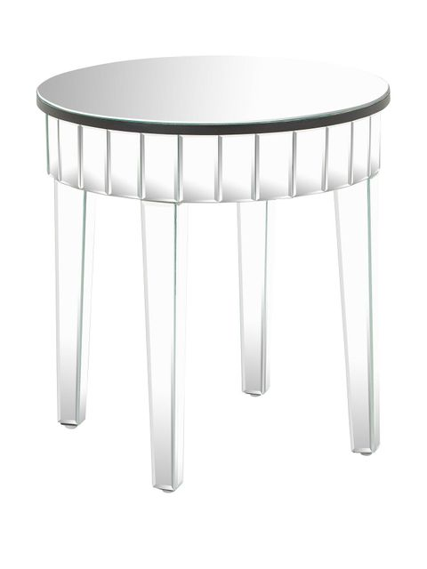 Lot 1243 BOXED VEGAS OCCASIONAL LAMP TABLE MIRRORED RRP £120.00