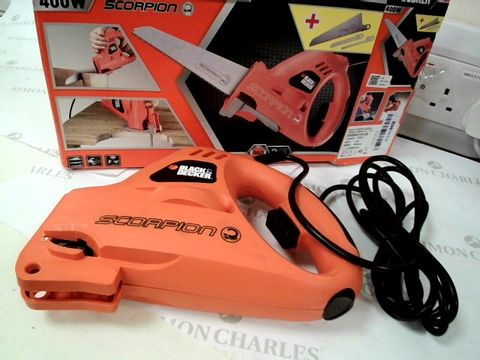 Lot 13422 BLACK & DECKER SCORPION POWERED HANDSAW