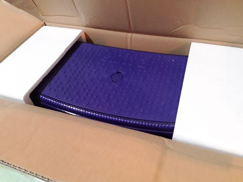 Lot 10606 BOXED VIBRAPOWER SLIM 3 SEAT PURPLE