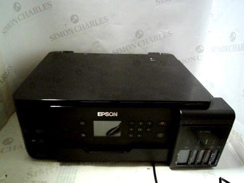 Lot 806 EPSON ECOTANK ET-7700 A4 PRINT/SCAN/COPY WI-FI PHOTO PRINTER