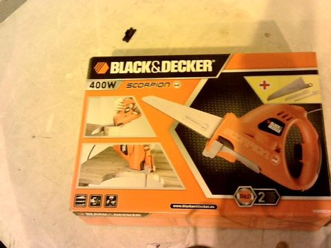 Lot 12183 BLACK & DECKER SCORPION POWERED HANDSAW
