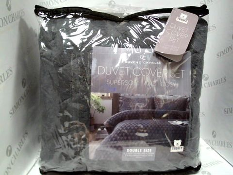 Lot 7313 GAVENO CAVAILIA DOUBLE DUVET COVER SET