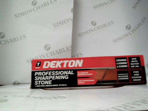Lot 17612 DEKTON PROFESSIONAL SHARPENING TOOL