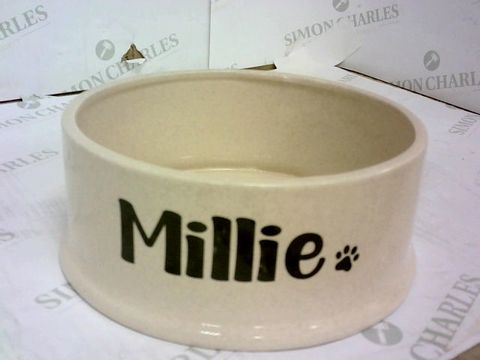 Lot 40 LARGE PET BOWL 'MILLIE' RRP £24.99