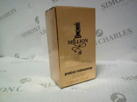 Lot 3035 BRAND NEW AND SEALED PACO RABANNE 1 MILLION EDT 50ML