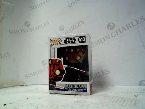 Lot 101 FUNKO POP FIGURE STAR WARS DATH MAUL