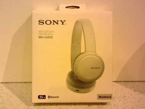 Lot 11679 SONY WH-CH510 WIRELESS STEREO HEADSET