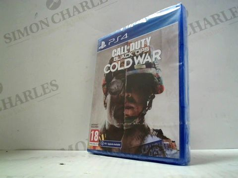 Lot 3026 CALL OF DUTY BLACK OPS: COLD WAR PLAYSTATION 4 GAME