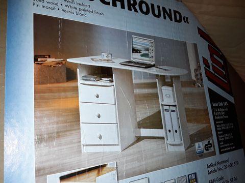 Lot 5017 BOXED TOUCHROUND PC DESK - WHITE