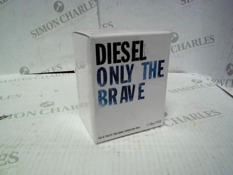 Lot 8108 BRAND NEW AND SEALED DIESEL ONLY THE BRAVE EDT 50ML