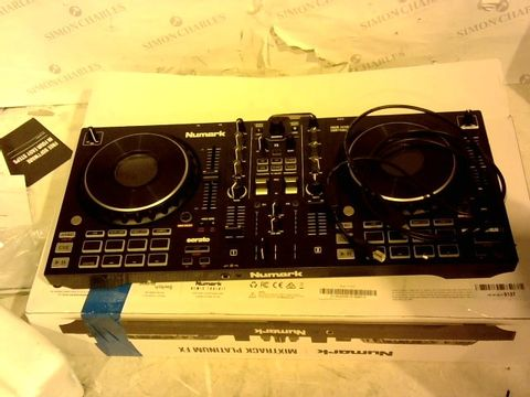 Lot 11190 NUMARK MIXTRACK PLATINUM FX – DJ CONTROLLER FOR SERATO DJ