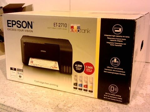 Lot 1253 EPSON ET-2710 PRINTER