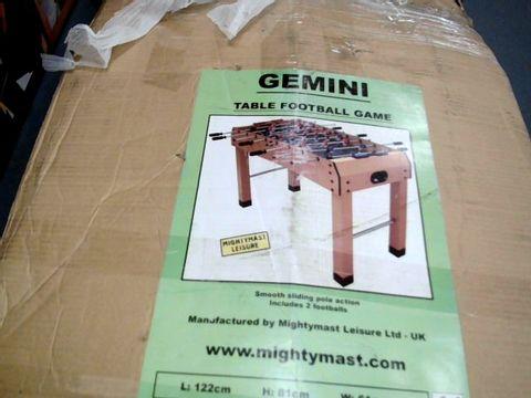 Lot 7599 BOXED GEMINI TABLE FOOTBALL GAME
