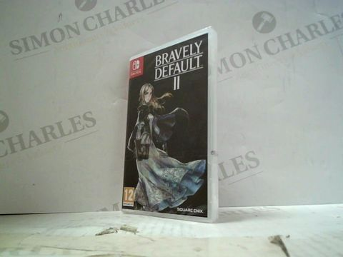 Lot 37 BRAVELY DEFAULT II NINTENDO SWITCH GAME