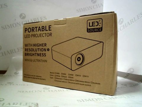 Lot 8374 PORTABLE LED PROJECTOR