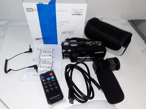 Lot 4247 FHD 1080P DIGITAL VIDEO CAMERA