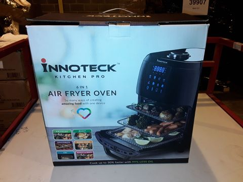 Lot 3045 BOXED INNOTECK KITCH PRO 1800W 12 LITRE AIR FRYER