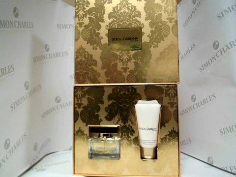 Lot 8064 DOLCE & GABBANA THE ONE - EDP AND PERFUMED BODY LOTION