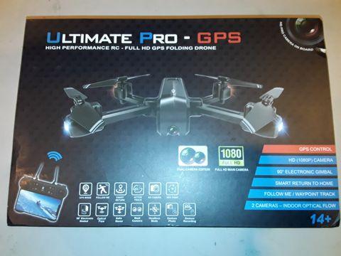 Lot 3245 ULTIMATE PRO GPS HIGH PERFORMANCE RC-HD PRO FOLDING DRONE