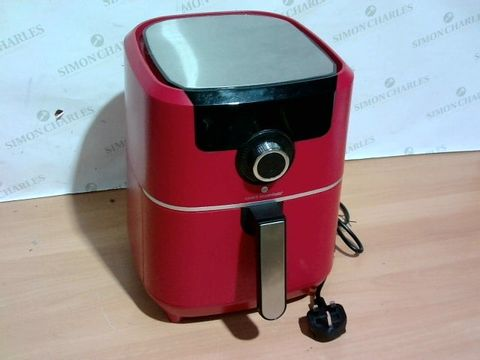 Lot 3314 COOK'S ESSENTIALS AIR FRYER - RED