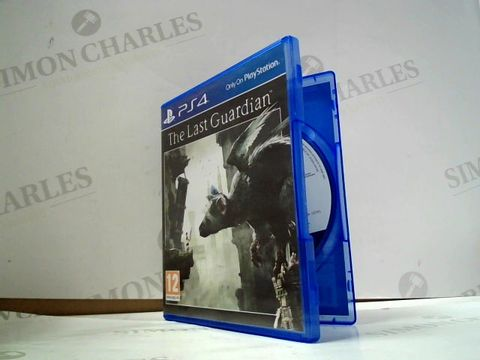 Lot 8026 THE LAST GUARDIAN  PLAYSTATION 4 GAME