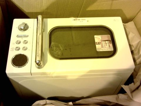 Lot 12112 MORPHY RICHARDS ACCENTS 20L 800W MICROWAVE CREAM