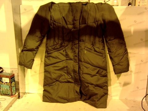 Lot 11241 CENTIGRADE MACHINE WASHABLE FEATHER & DOWN HOODED COAT