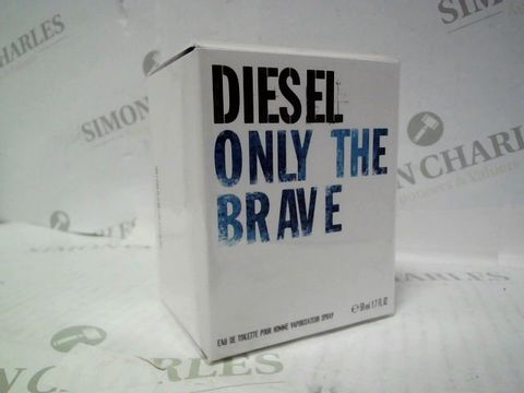 Lot 3034 BRAND NEW AND SEALED DIESEL ONLY THE BRAVE EDT 50ML