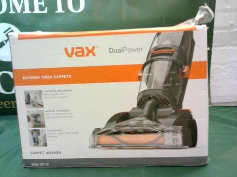 Lot 9034 VAX DUAL POWER CARPET CLEANER, 2.7 LITRE