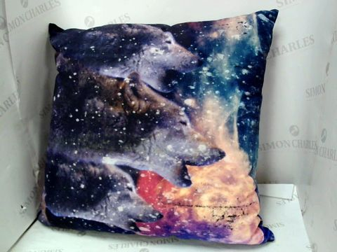 Lot 10011 WOLF UNIVERSE PILLOW
